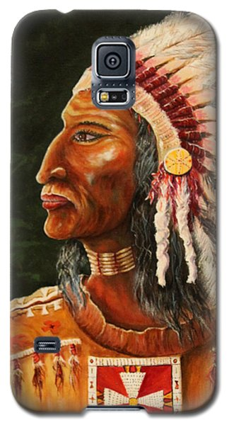 Native American Indian Chief Galaxy S5 Case
