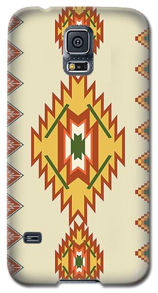 Native American Rug Galaxy S5 Case