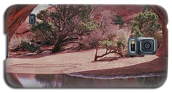 Navajo Arch Reflection Galaxy S5 Case