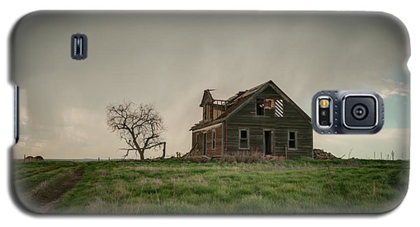 Nebraska Farm House Galaxy S5 Case