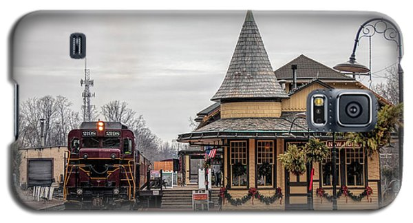 New Hope Train Station At Christmas Galaxy S5 Case