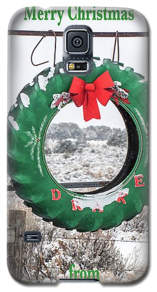 Galaxy S5 Case featuring the photograph New Mexico Christmas Card by Britt Runyon