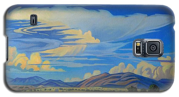 New Mexico Cloud Patterns Galaxy S5 Case