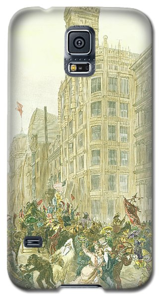 New Years Mummers On Chestnut Street Galaxy S5 Case