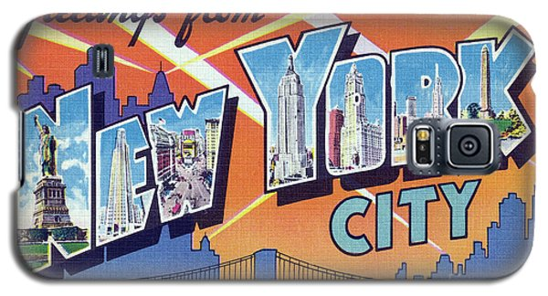 New York City Greetings - Version 2 Galaxy S5 Case