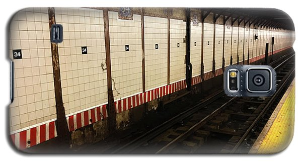 New York City Subway Line Galaxy S5 Case