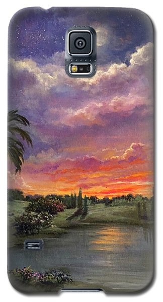 Night By Light Of Day Galaxy S5 Case