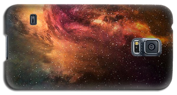 Cold Galaxy S5 Case - Night Sky With Stars And Nebula by Sumroeng Chinnapan