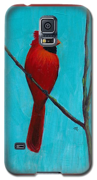 Northern Cardinal Galaxy S5 Case