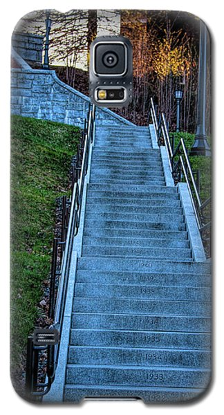 Norwich University Centennial Stairs With Dates Galaxy S5 Case