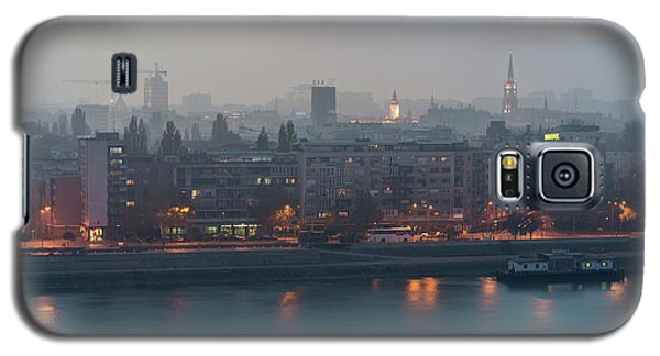 Novi Sad Night Cityscape Galaxy S5 Case