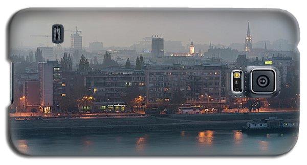 Novi Sad Night Cityscape Galaxy S5 Case