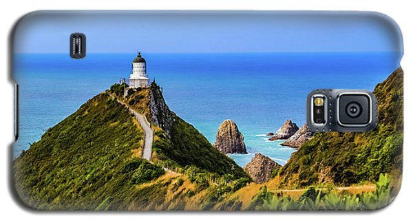 Nugget Point Lighthouse, New Zealand Galaxy S5 Case