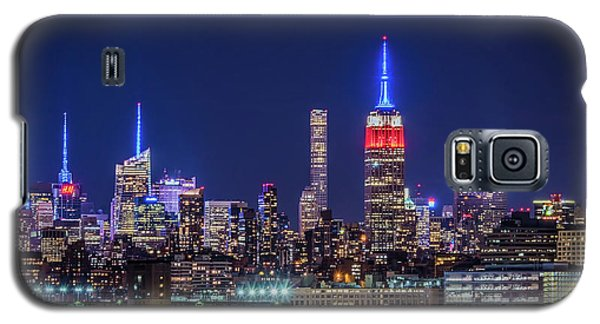 Nyc At The Blue Hour Galaxy S5 Case