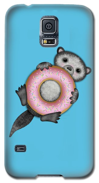 O Is For Otter With An O So Delicious Doughnut Galaxy S5 Case