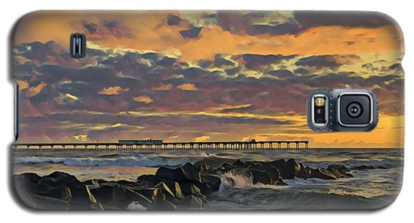 Ob Sunset No. 3 Galaxy S5 Case