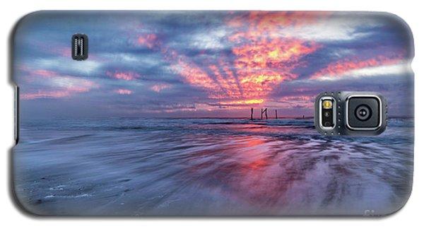Ocean City Lights Galaxy S5 Case