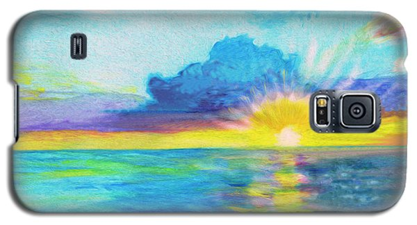 Ocean In The Morning Galaxy S5 Case