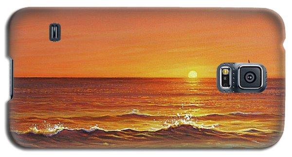 Ocean Of Fire Galaxy S5 Case