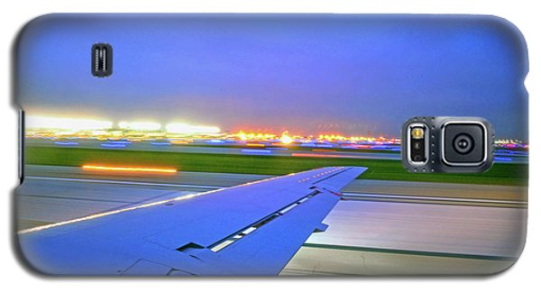 O'hare Night Takeoff Galaxy S5 Case