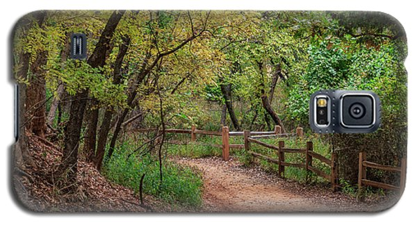 Oklahoma City's Martin Nature Park In Fall Color Galaxy S5 Case
