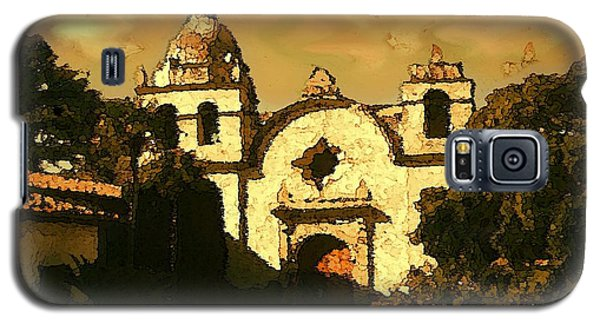 Old Carmel Mission - Watercolor Painting Galaxy S5 Case