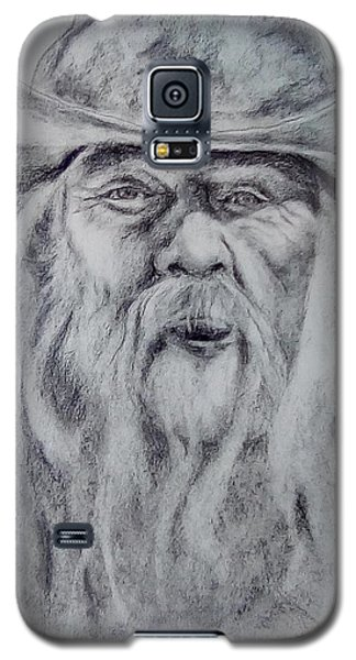 Old Man In A Hat  Galaxy S5 Case