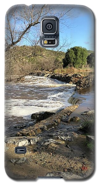 Old Mission Trail Dam And Flume Galaxy S5 Case