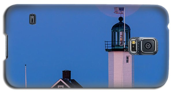 Old Scituate Light Galaxy S5 Case