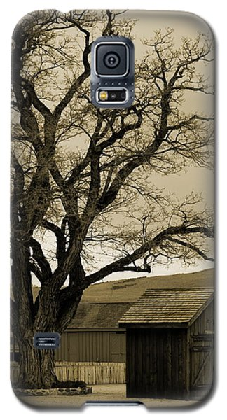 Old Shanty In Sepia Galaxy S5 Case