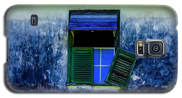 Old Window 3 Galaxy S5 Case