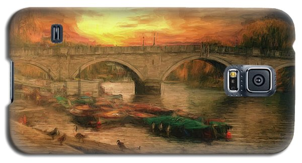 Once More To The Bridge Dear Friends Galaxy S5 Case
