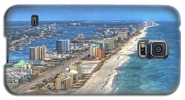 Orange Beach East Galaxy S5 Case