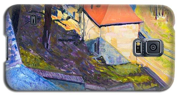 Orange Roof Galaxy S5 Case