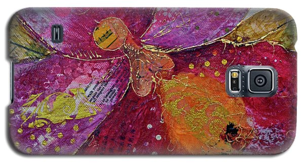Orchid Galaxy S5 Case - Orchid Passion I by Shadia Derbyshire