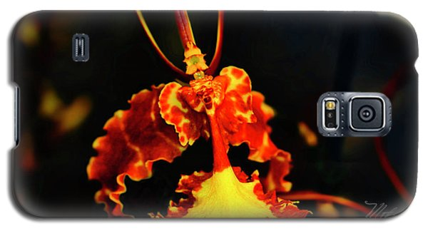 Orchid Study Four Galaxy S5 Case