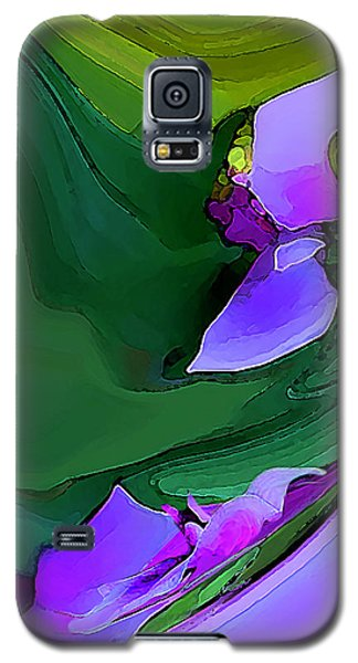Orchids And Emeralds Galaxy S5 Case
