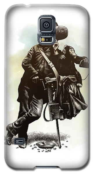 Organ Grinder Galaxy S5 Case