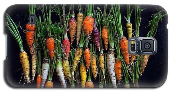 Organic Rainbow Carrots Galaxy S5 Case