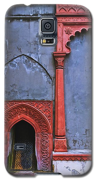 Ornate Red Wall Galaxy S5 Case