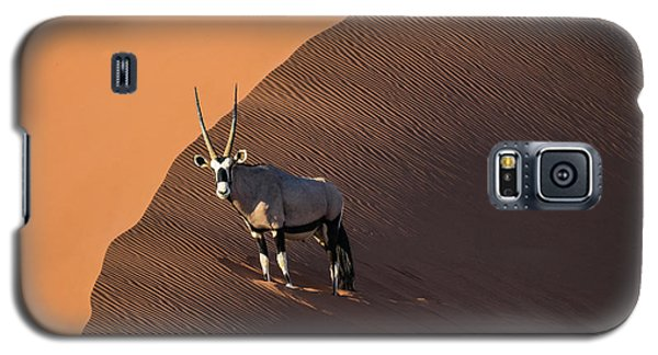 Oryx On The Edge, Namibia Galaxy S5 Case
