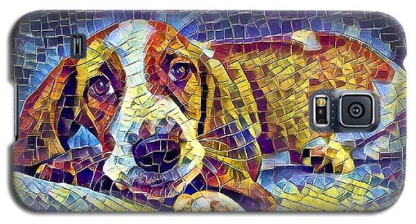 Otis The Potus Basset Hound Dog Art  Galaxy S5 Case