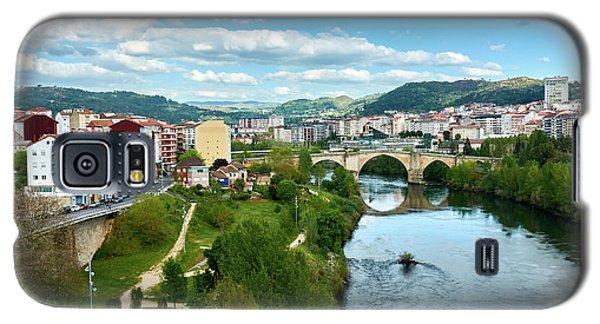 Ourense And The Roman Bridge From The Millennium Bridge Galaxy S5 Case