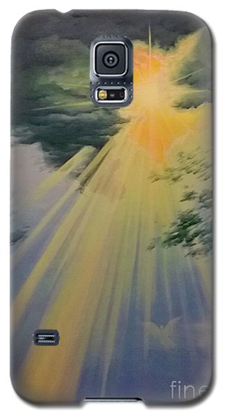 Out Of Darkness His Light Shall Shine Galaxy S5 Case
