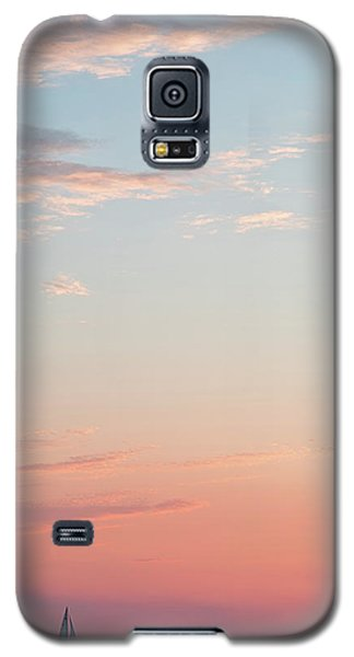 Outer Banks Sailboat Sunset Galaxy S5 Case