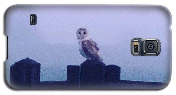 Owl In The Mist Galaxy S5 Case