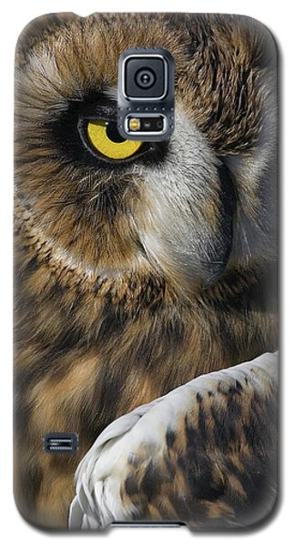 Owl Strikes A Pose Galaxy S5 Case