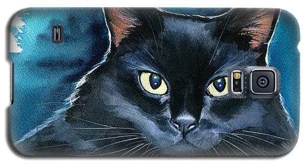 Ozzy Black Cat Painting Galaxy S5 Case