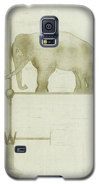 Pachyderm House, Philadelphia Zoo, Detail Of Weather Vane Galaxy S5 Case