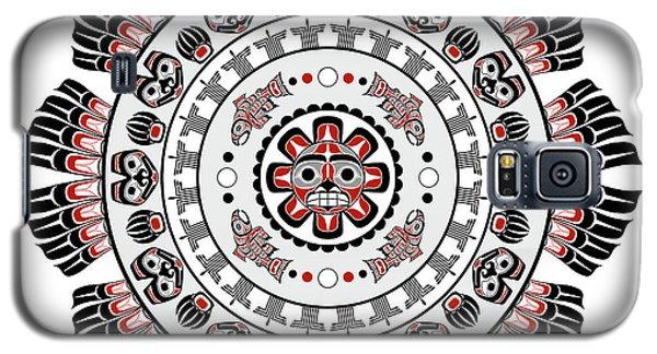 Pacific Northwest Native American Art Mandala Galaxy S5 Case